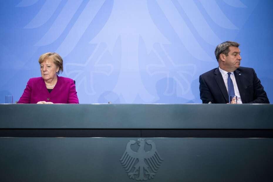 Tysklands Forbundskansler Varsler Mulige Nye Restriktioner Ikast Brandenyt